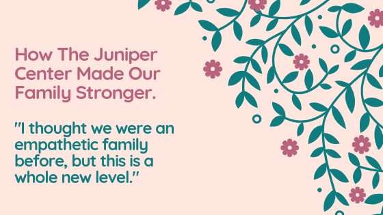 How Family Therapy at The Juniper Center Helps