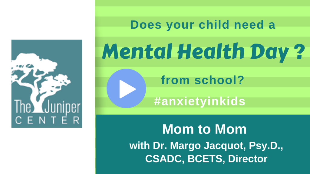 Mom to Mom Mental Health Day