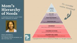 Leslie Forde Moms Hierarchy of Needs